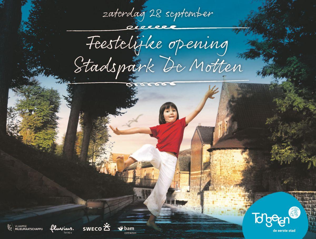 Feestelijke opening stadspark De Motten 28-09-2019