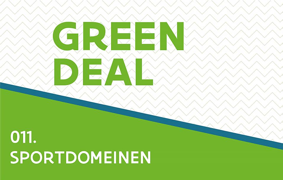 Green Deal Sportdomein - label