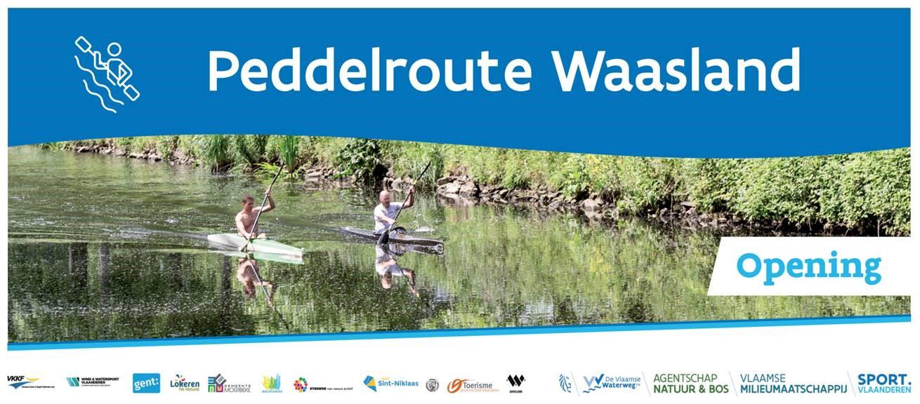 Peddelroute Waasland - opening 29 maart 2020
