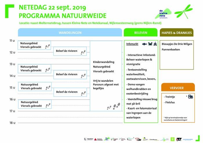 Netedag 2019 - programma natuurweide