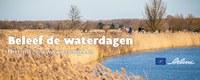 Vlaamse waterdagen van 20 tot 28/3