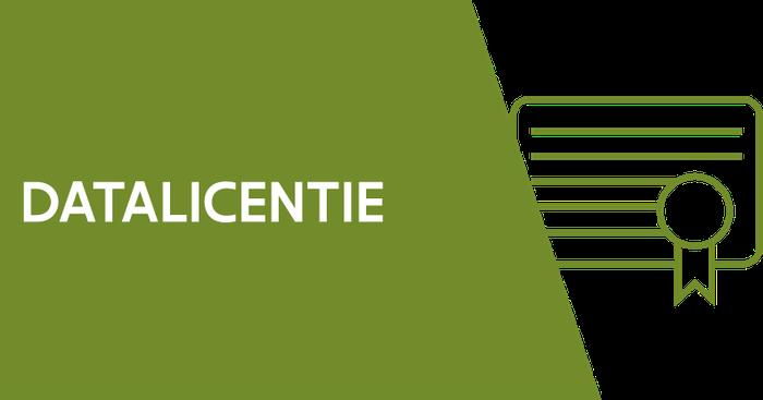 Icoon datalicentie