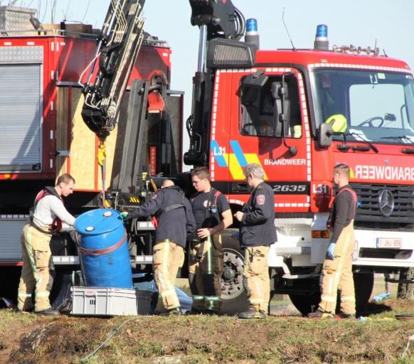 Dumping drugsafval in Zuid-Willemskanaal in Bocholt