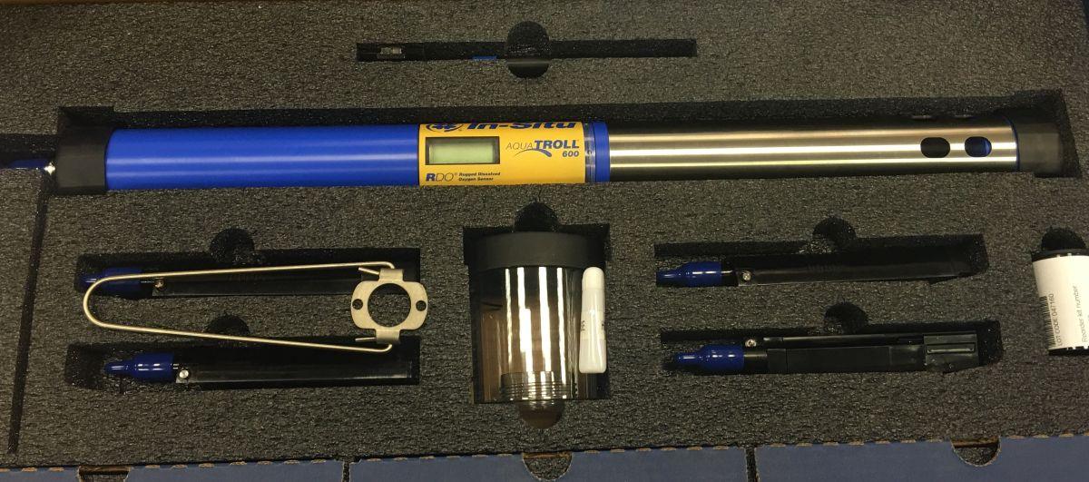 Multiparametersonde met bluetooth