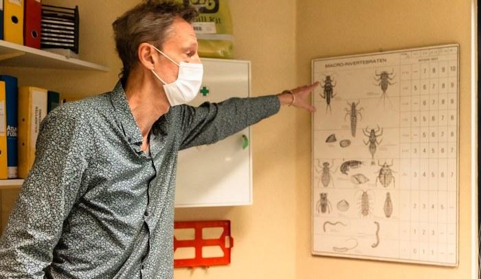 Christophe Maes - macro-invertebraten