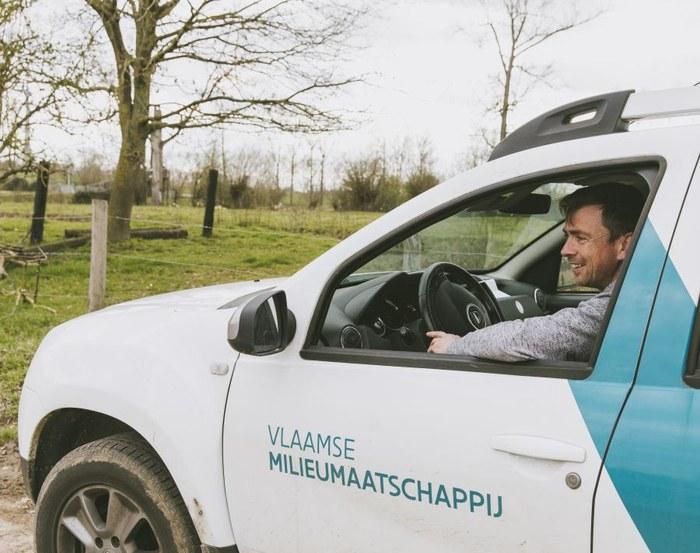 Ken Van Rooy - dienstwagen VMM