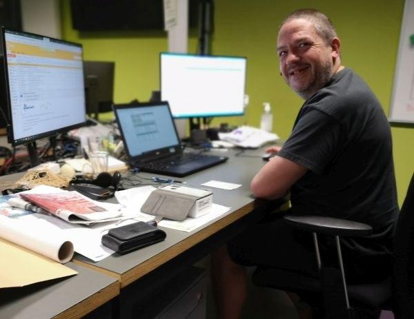 Helpdeskmedewerker Jan Van der Schueren