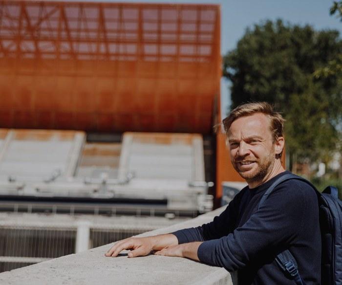 Johan Auwerkerken - pompstation Schijn