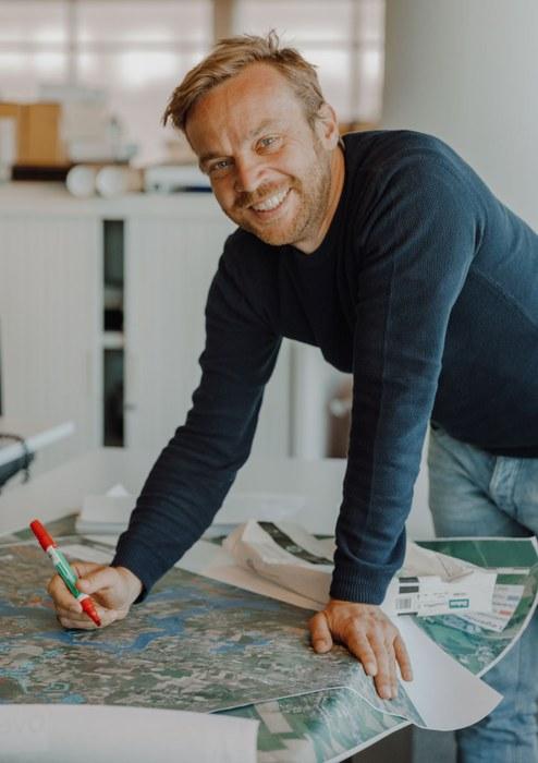 Johan Auwerkerken - waterkaart