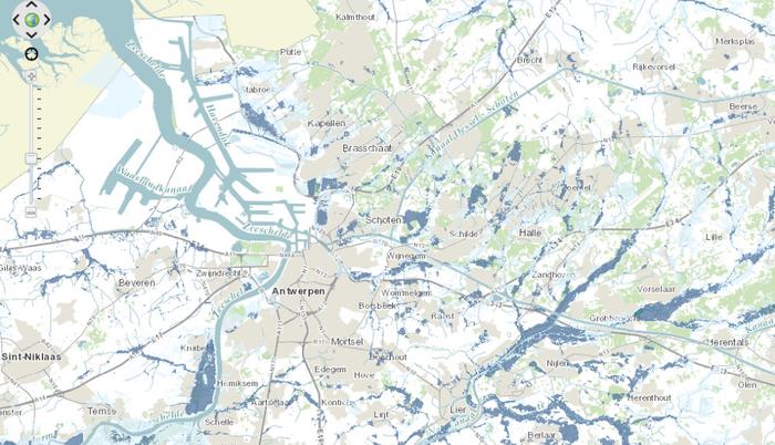 Screenshot geoloket watertoets