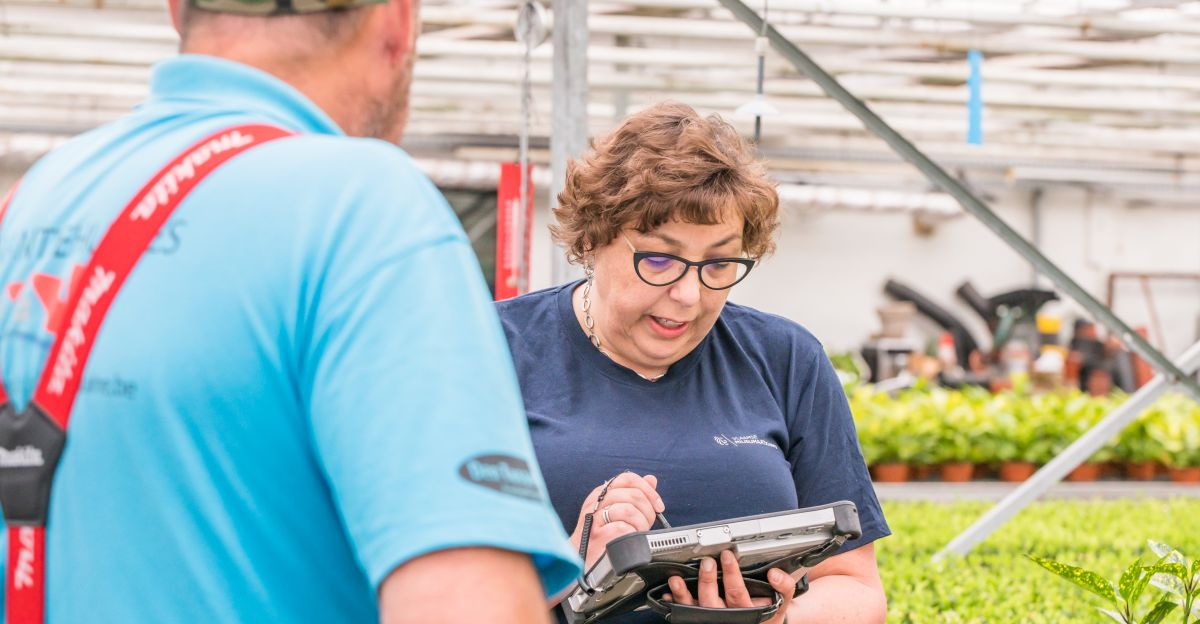 Nancy Cooreman - tuinbouwbedrijf