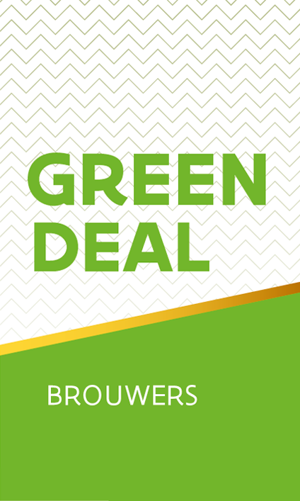 Green Deal Brouwers - verticaal label