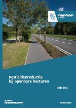 cover pesticidenreductie bij openbare besturen 2013 - 2014