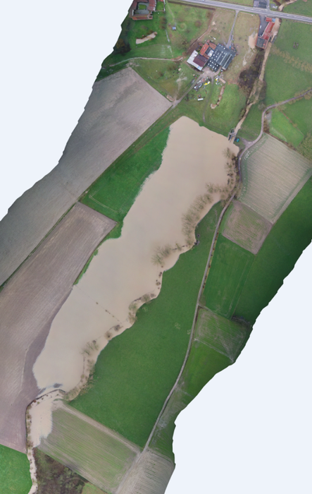 Dronebeeld GOG Mark