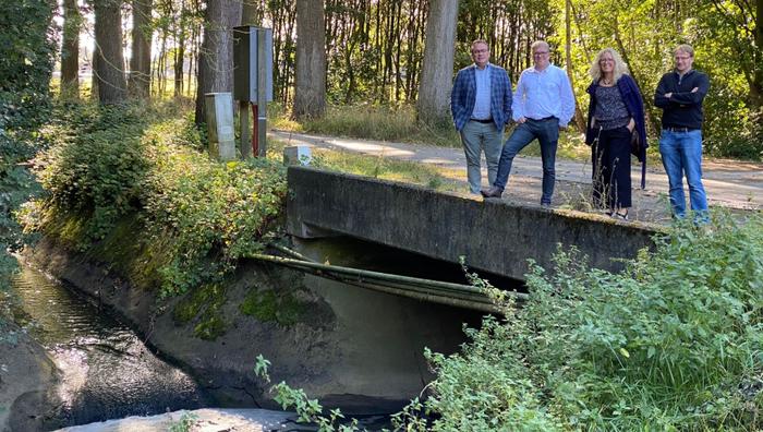 Gaverbeek - partners VMM, Provincie West-Vlaanderen, Harelbeke, Deerlijk