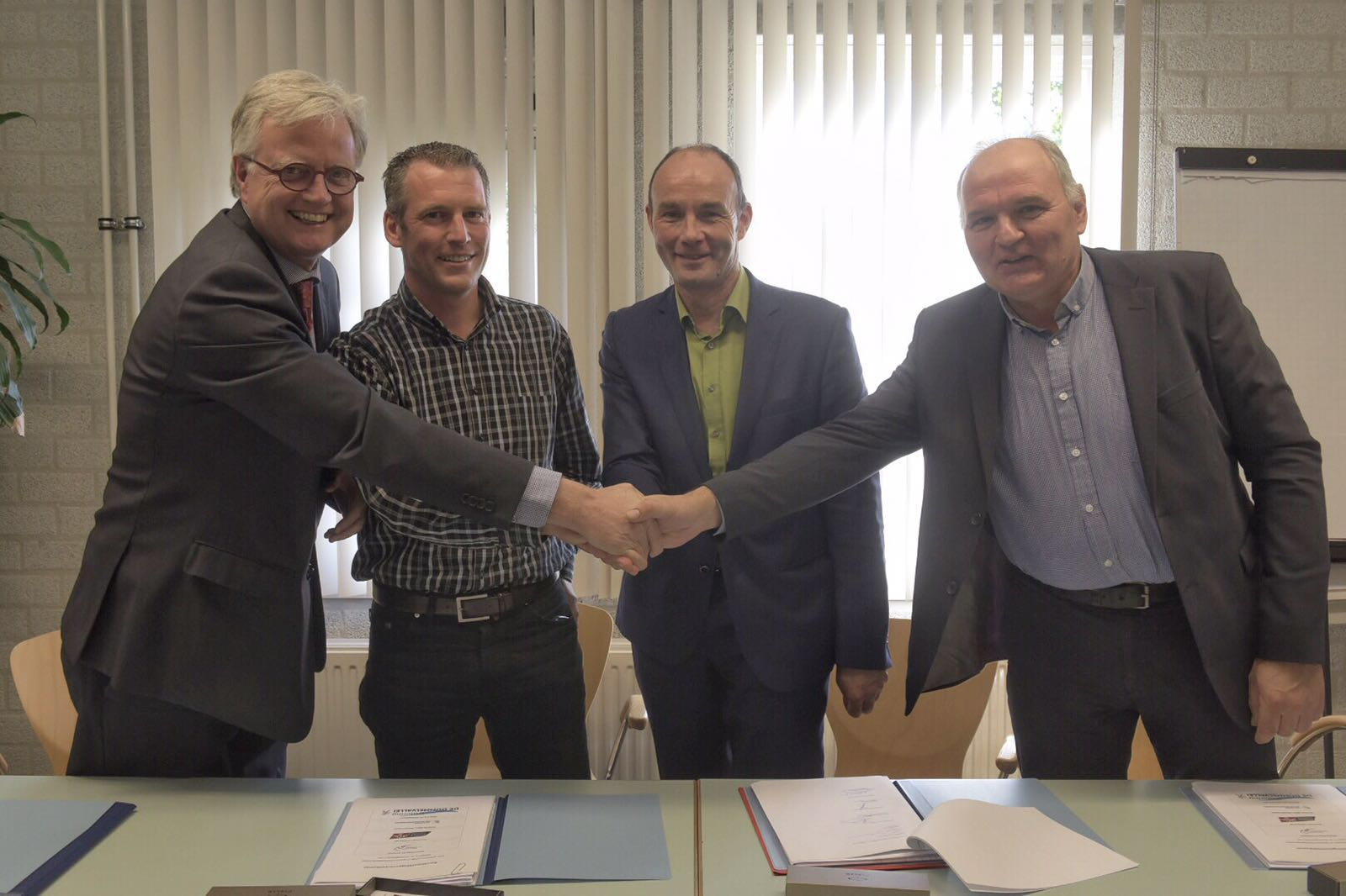 Ondertekening samenwerkingsovereenkomst 2