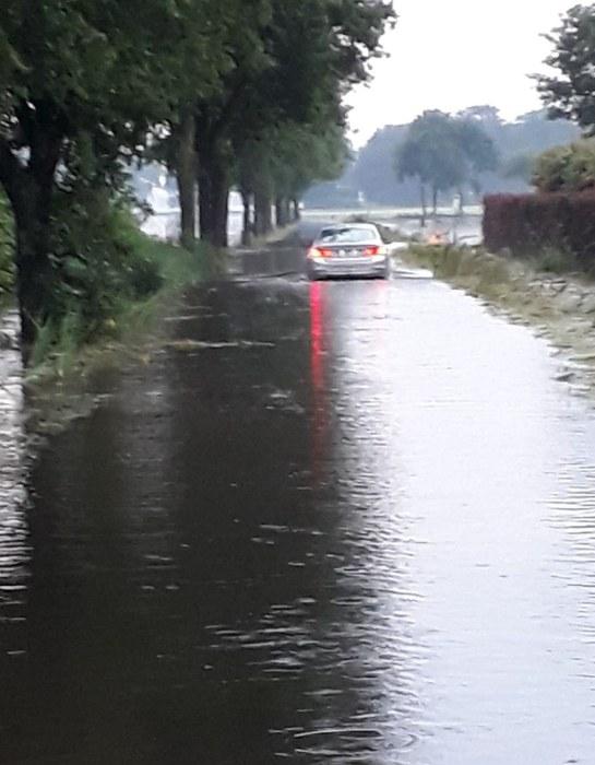 Kalmthout wateroverlast 2