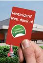 Geen pesticiden meer op openbaar terrein