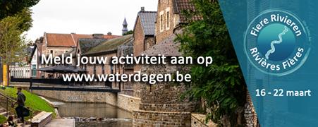 Initiatieven Wereldwaterdag op waterdagen.be