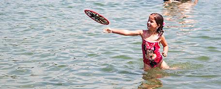 Prima zwemwaterkwaliteit!