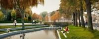 Water stroomt opnieuw door Jeker in vernieuwd stadspark