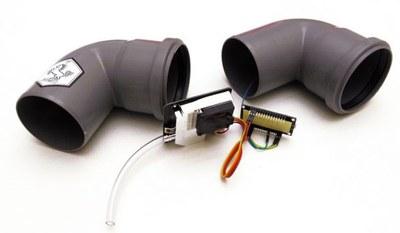 low-cost fijnstofsensor bij het sensor.community-netwerk