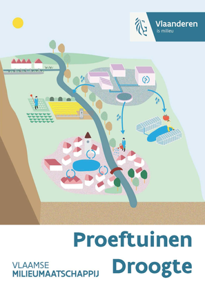 Proeftuinen droogte (illustratie)