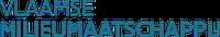 VMM logo typografisch blauw