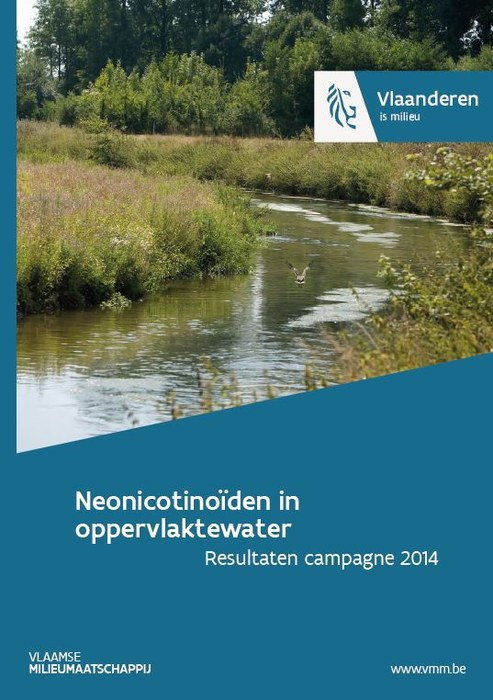 Cover Neonicotinoïden in oppervlaktewater 2014