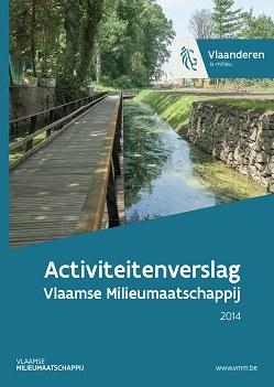 Cover activiteitenverslag 2014