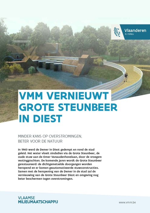 VMM vernieuwt Grote Steunbeer in Diest