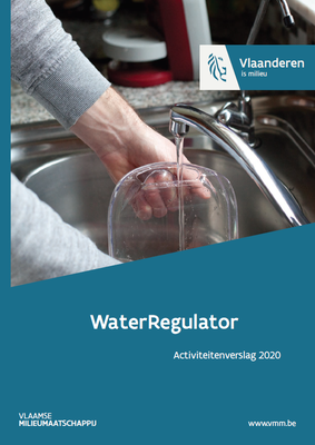 Cover activiteitenverslag WaterRegulator 2020