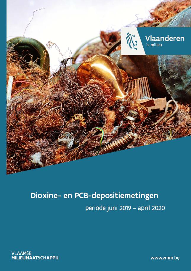Cover dioxine- en PCB-depositiemetingen juni 2019 - april 2020