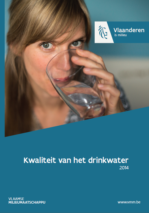 Cover kwaliteit van het drinkwater 2014