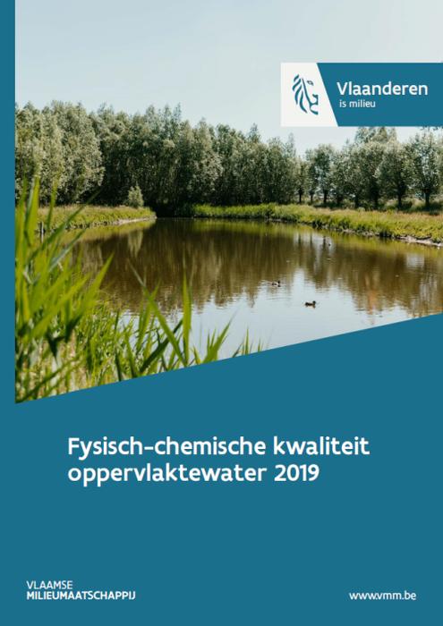 Cover fysisch-chemische kwaliteit oppervlaktewater 2019