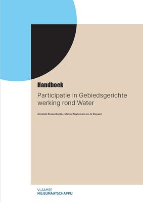 Cover handboek participatie in gebiedsgerichte werking rond water