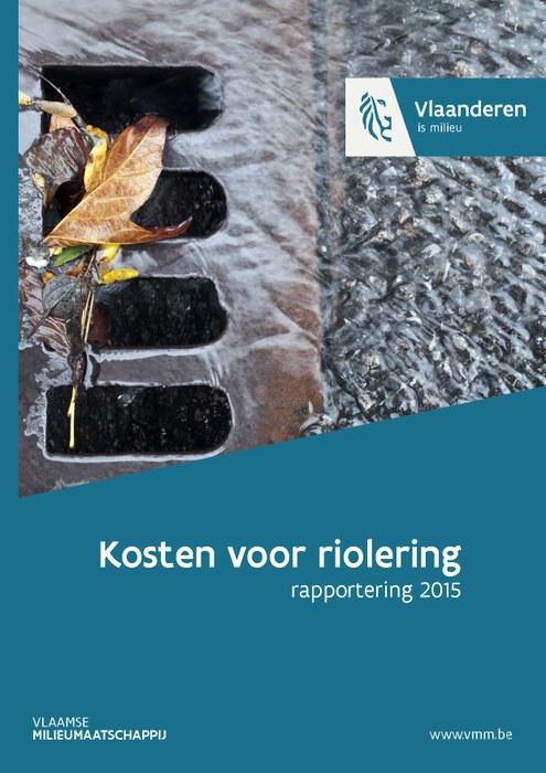 Cover Kosten voor riolering 2015