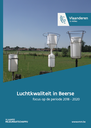 Cover luchtkwaliteit in Beerse 2018-2020