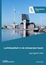 Cover luchtkwaliteit in de Antwerpse haven 2020