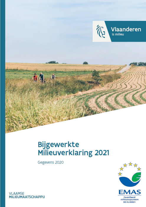 Cover milieuverklaring 2021