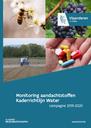 Cover monitoring aandachtstoffen Kaderrichtlijn Water - 2019-2020
