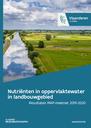 Cover nutriënten in oppervlaktewater in landbouwgebied - resultaten MAP-meetnet 2019-2020