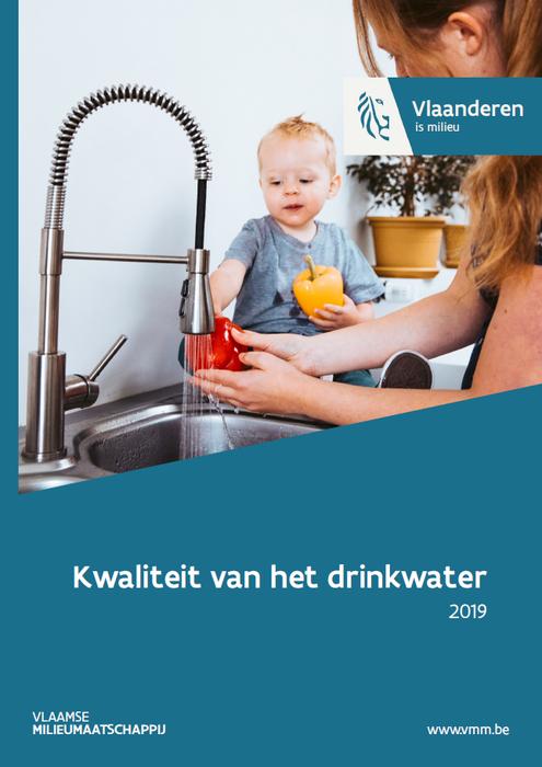 Cover rapport drinkwaterkwaliteit 2019
