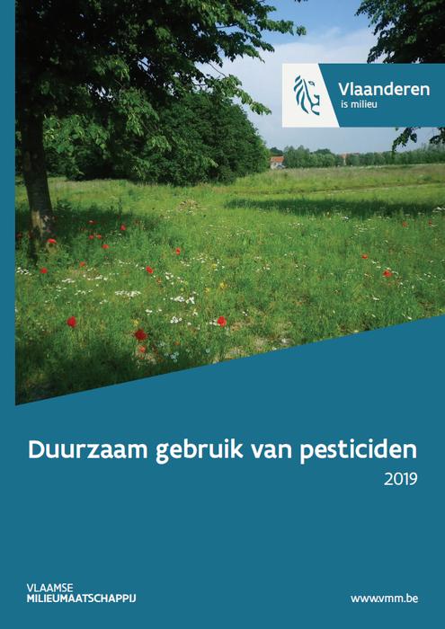 Cover rapport duurzaam gebruik van pesticiden 2019