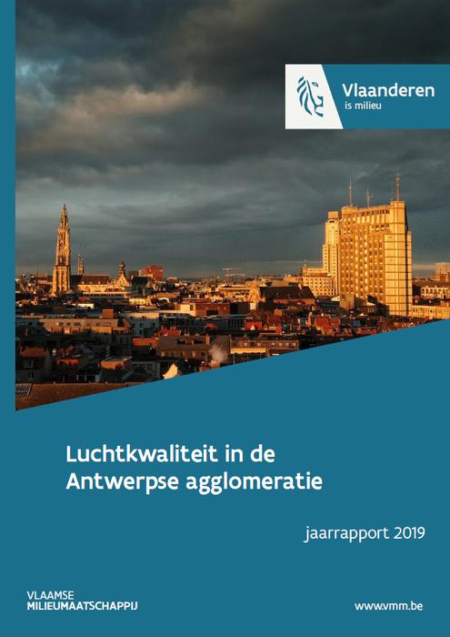 Cover rapport luchtkwaliteit in de Antwerpse agglomeratie – 2019