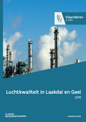 Cover luchtkwaliteit in Laakdal en Geel in 2019