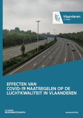 Cover effecten van COVID-19-maatregelen op de luchtkwaliteit in Vlaanderen