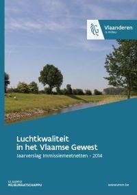 Cover Luchtkwaliteit in het Vlaamse Gewest 2014