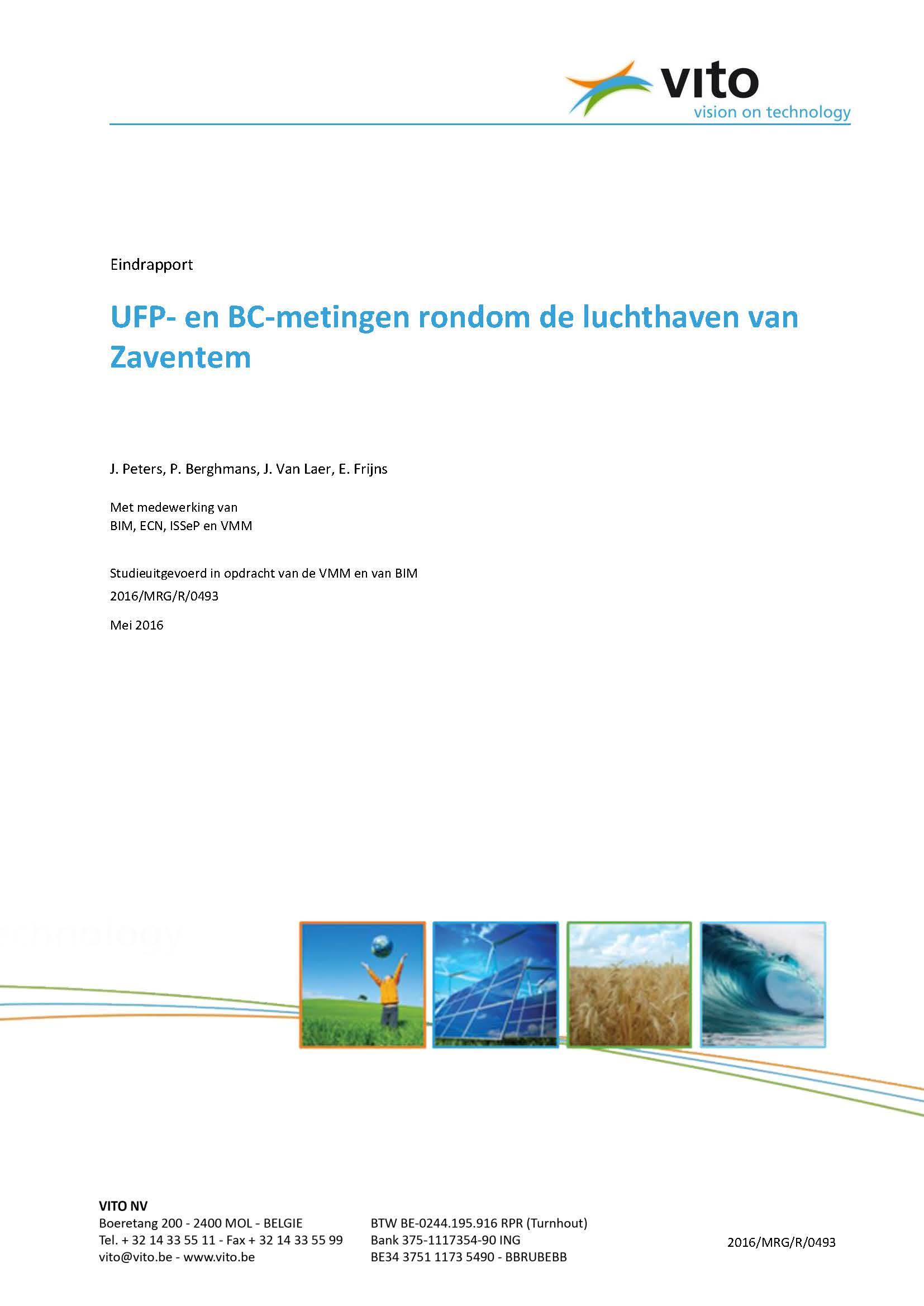 Rapport UFP- en BC-metingen luchthaven Zaventem