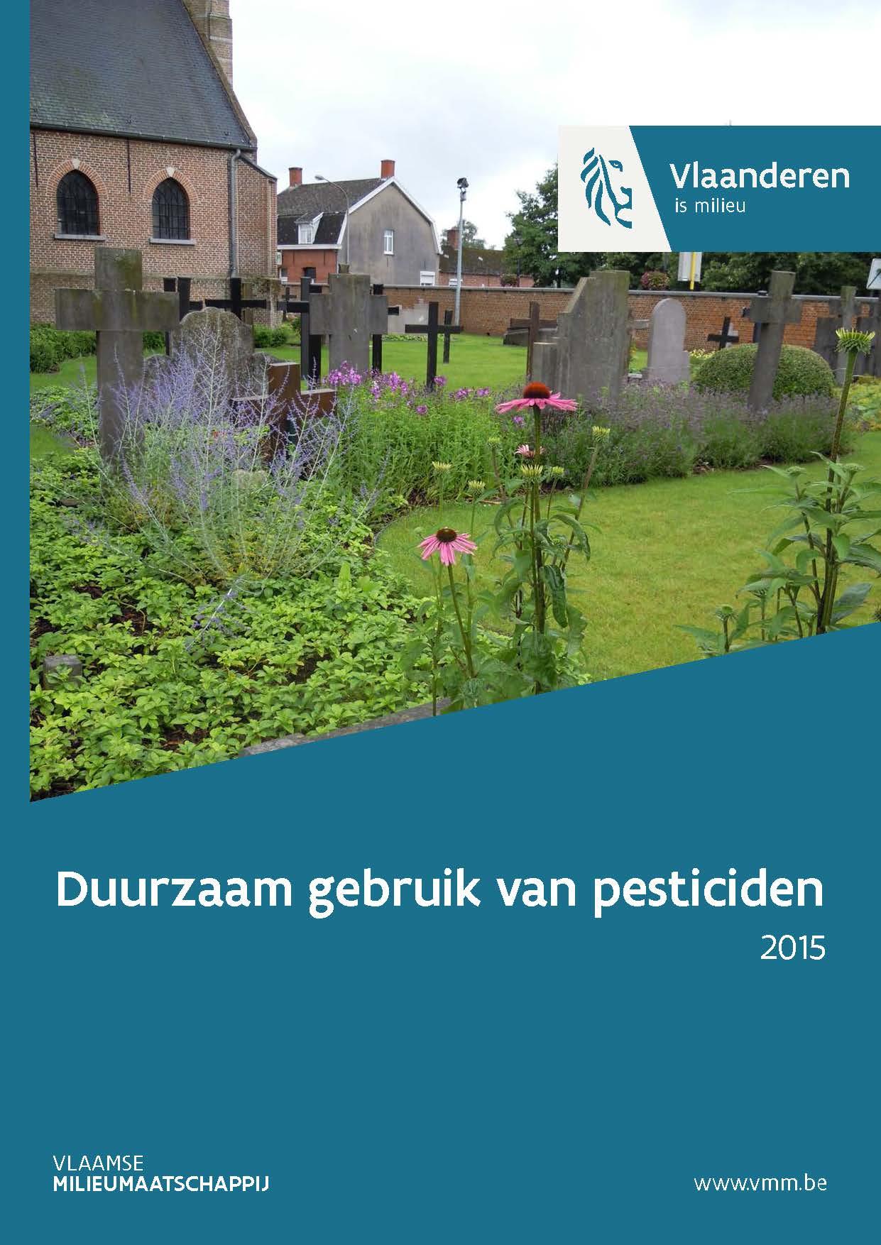 Cover Duurzaam gebruik pesticiden - 2015